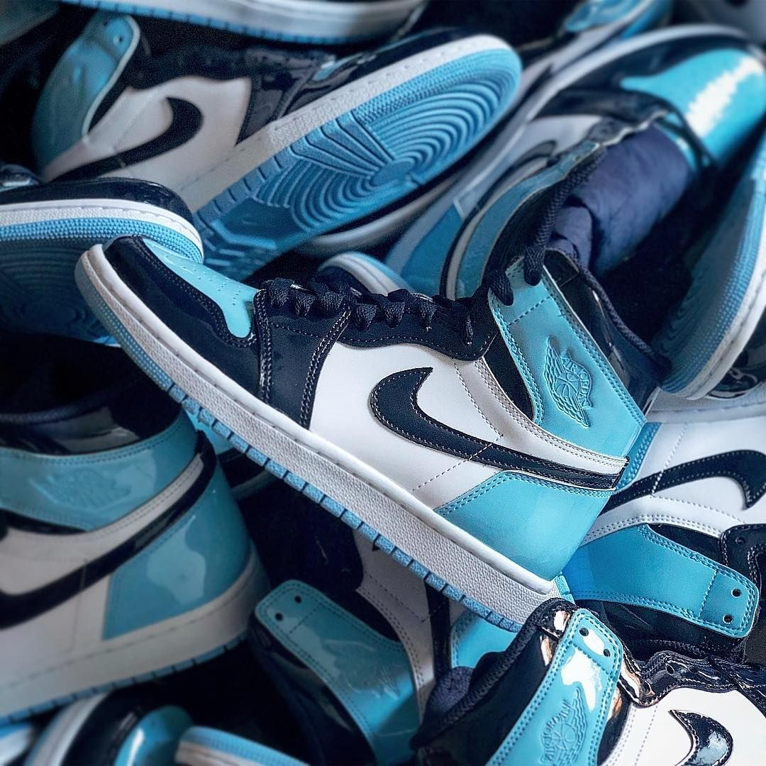 Air Jordan 1 Retro High UNC Patent | Chaussure minimaliste