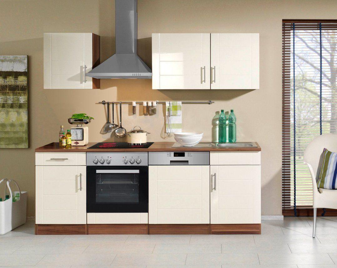 Küchenzeile 17 Cm Mit Elektrogeräten Günstig  Küche mit