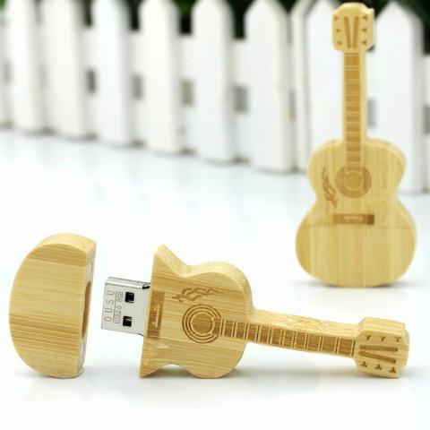 unique guitar gift for him or anyone who loves guitars the wooden usb guitar is a cool gift every guitar player will love store songs photos