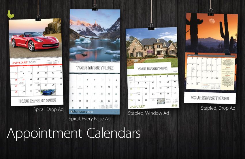 Corporate Calendar 2018 : Appointment calendars wall business