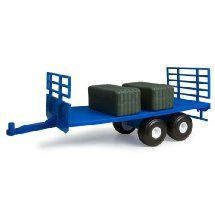 1:16 New HollAnd Flatbed Trailer