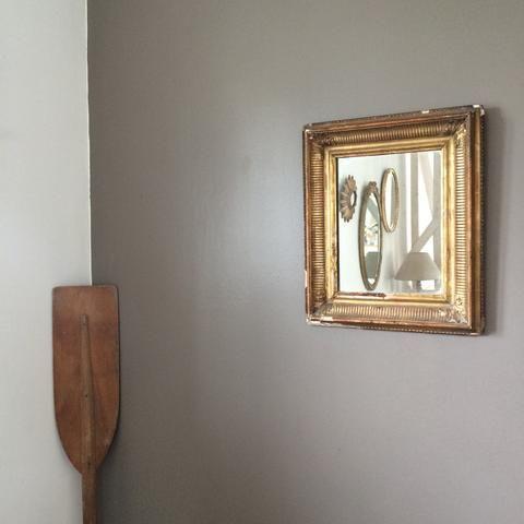 Antique French Gold Frame Mirror - Miroir Francais Ancien Cadre Dore