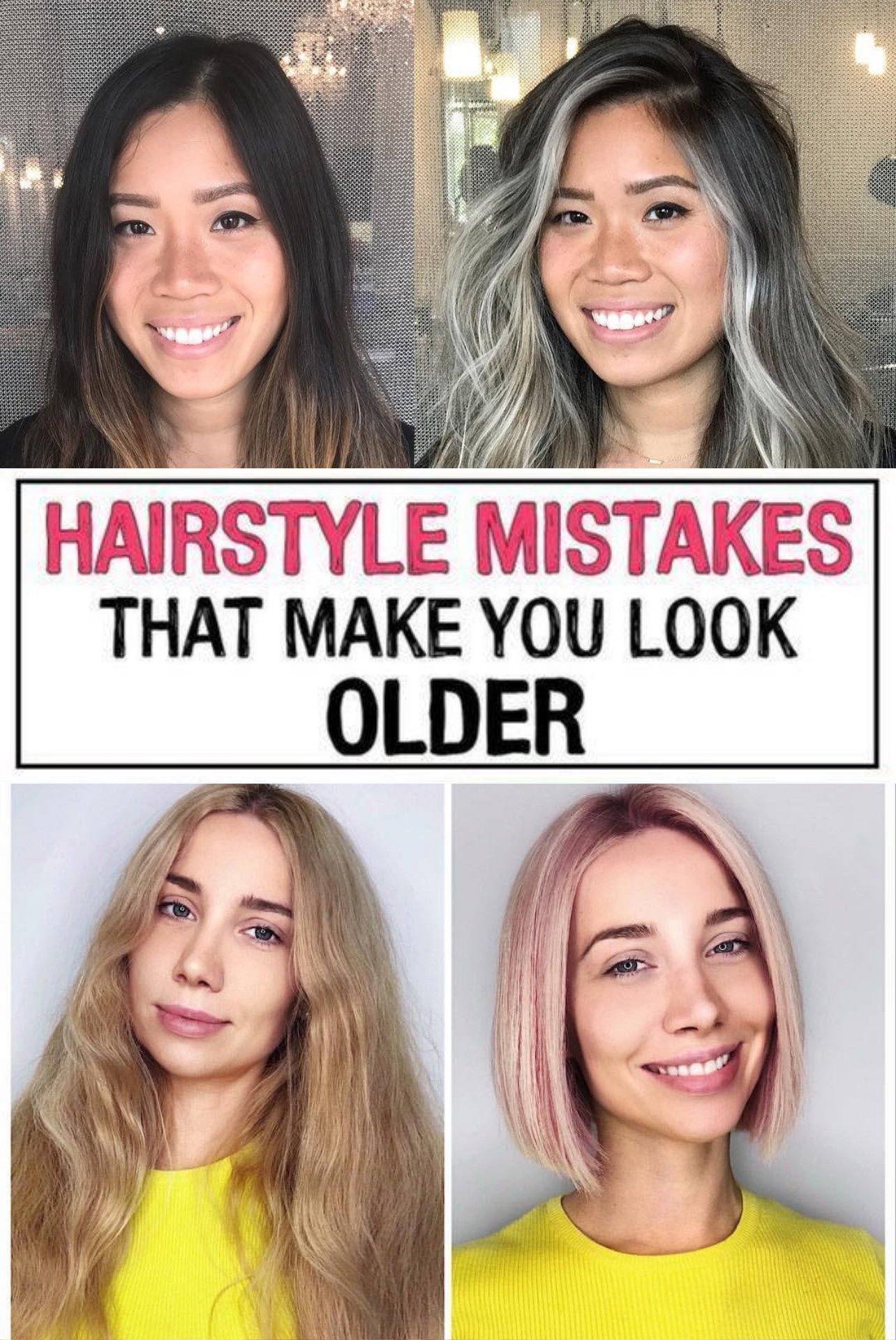 11 Hairstyle Mistakes That Are Aging You In 2020