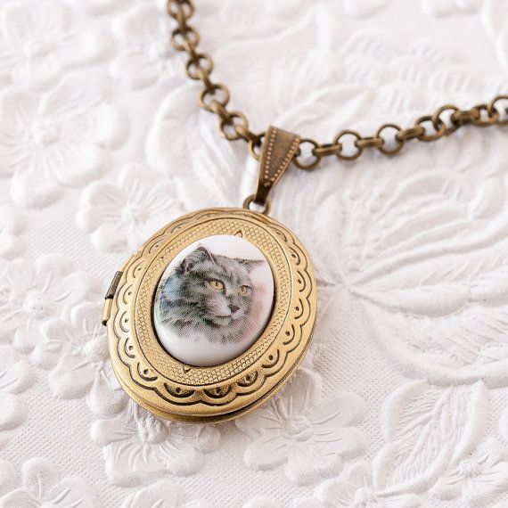 magnetic stainless cat aromatherapy love item diffuser lockets oil gold perfume necklace locket steel