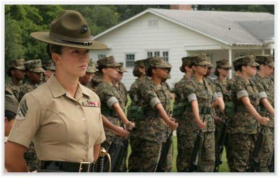 Drill Instructors At Parris Island Parris Island Sc Women