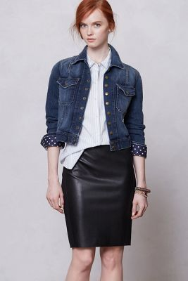 nightshade pencil skirt