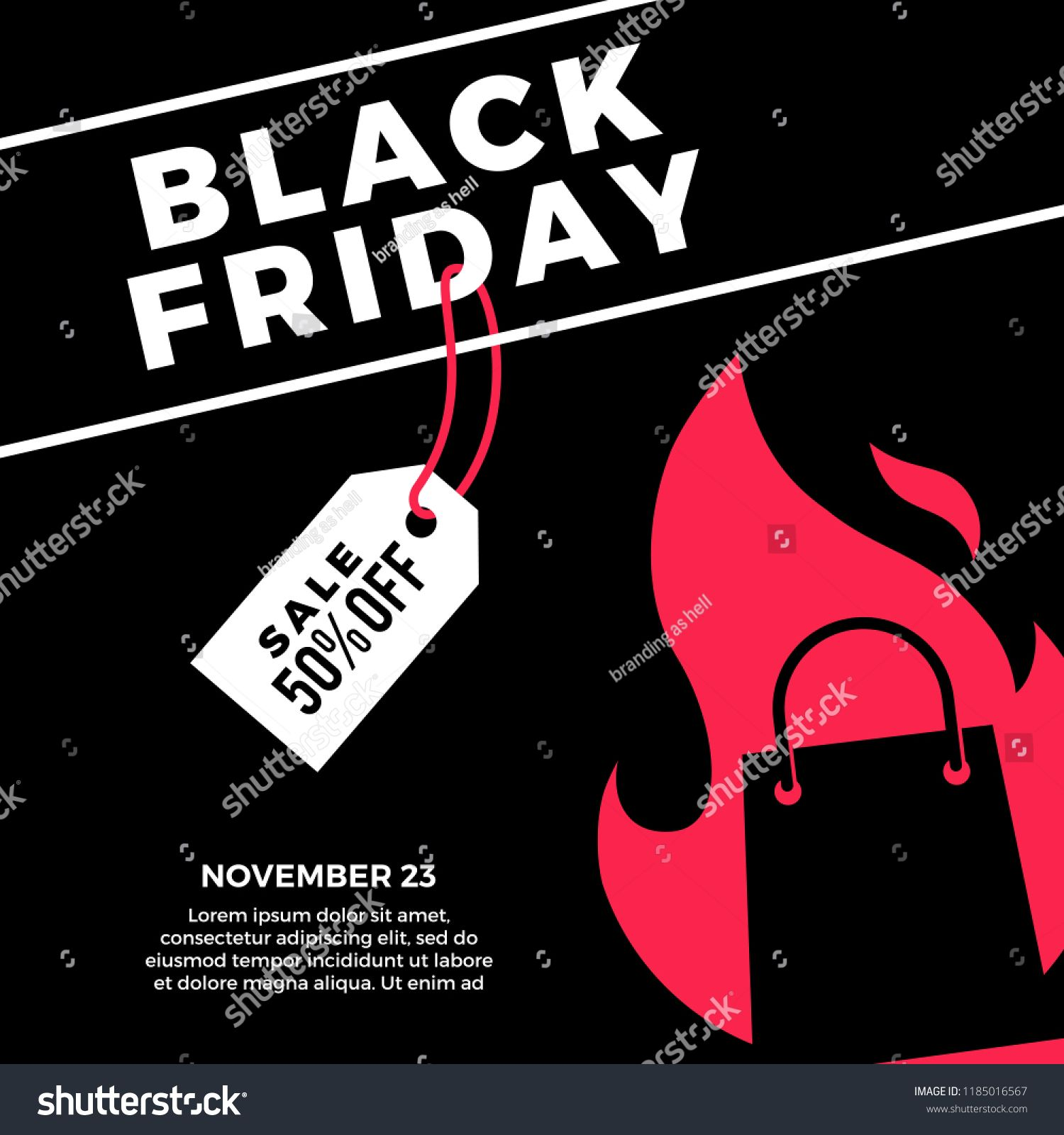 Pin On Black Friday Web Banner Flyer Poster Post