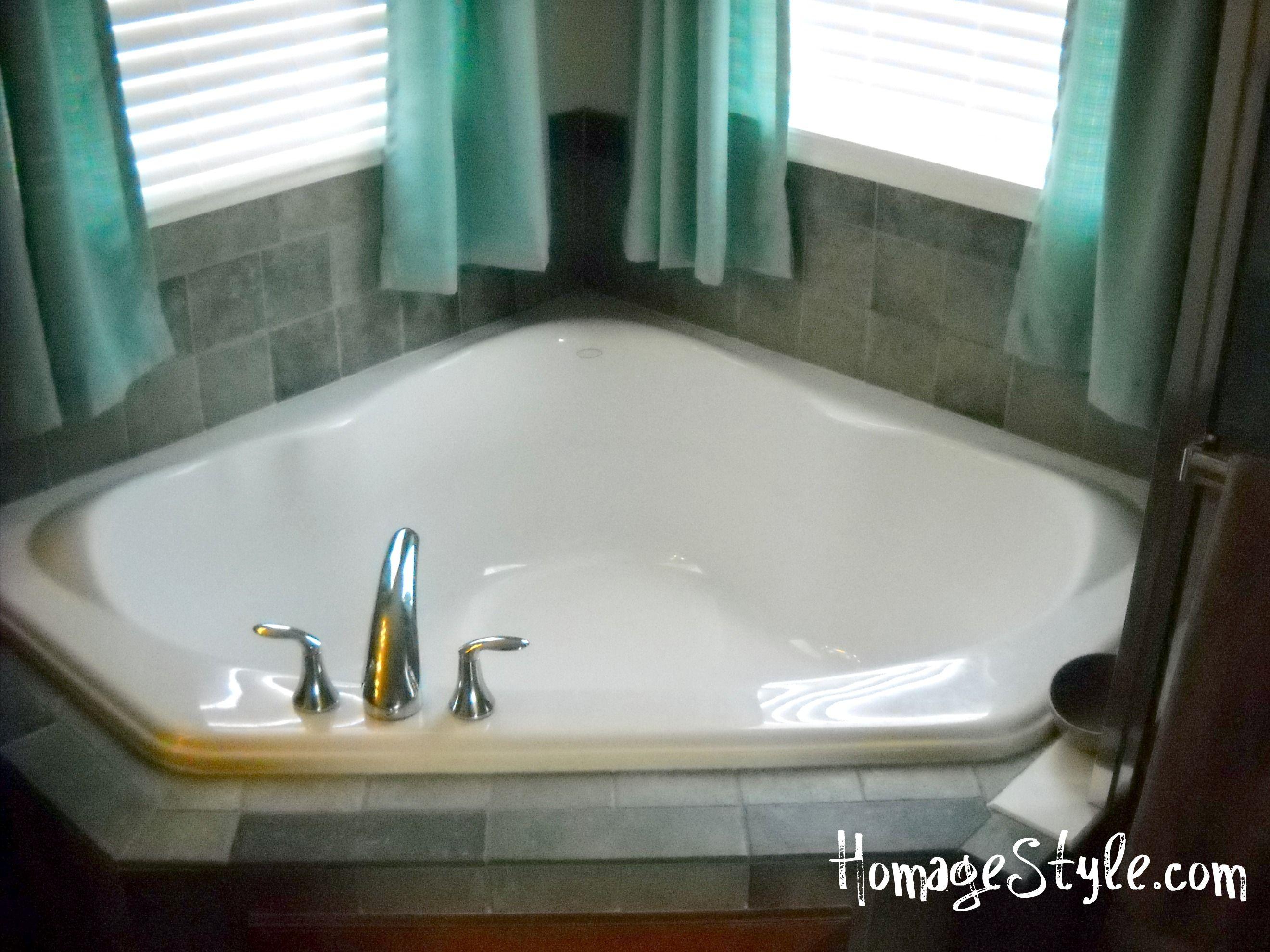 Garden Tub Curtain Ideas Mobile Home Bathtubs Home Goods Decor