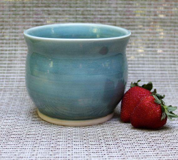 Medium Opal Bowl  Wheel Thrown by SycamoreCreekPottery on Etsy,