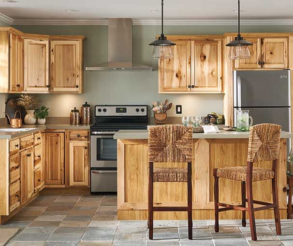 Kitchen Cabinetry Ideas And Inspiration At Value Prices Be Inspired By These K Timeless Kitchen Cabinets Hickory Kitchen Cabinets Kitchen Cabinet Styles