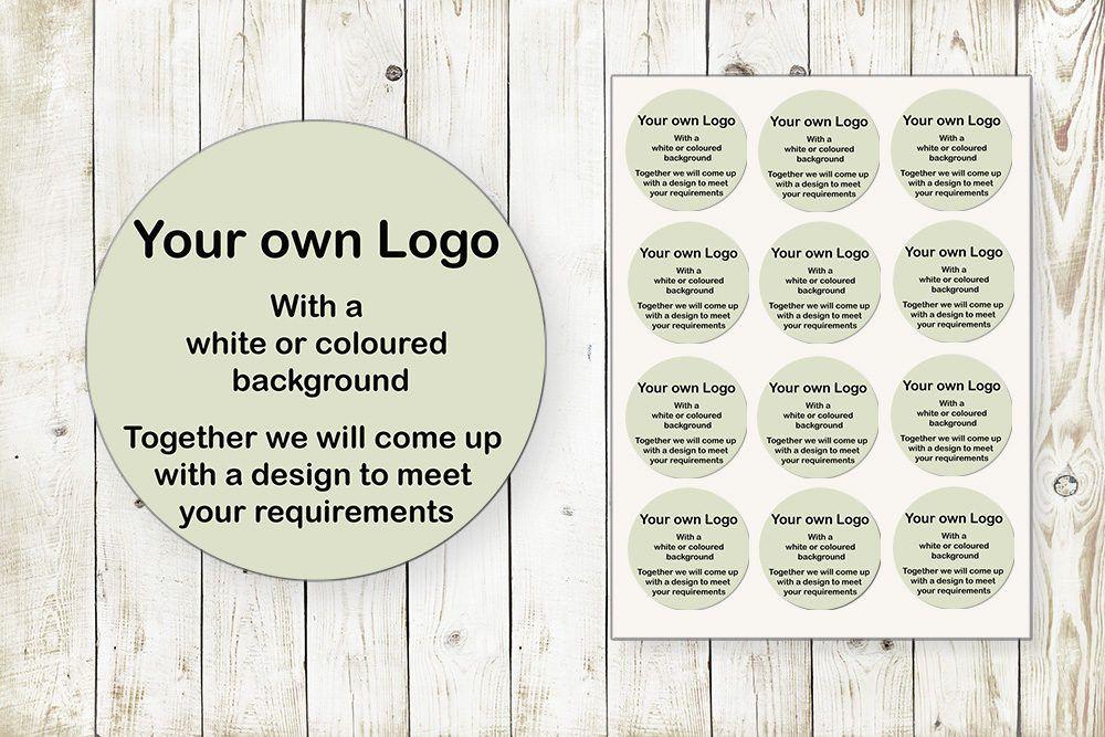 Thank You Sticker Personal Sticker Own Logo Sticker Business Sticker Personalised Sticker Custom Round Sticker Design your Own Sticker