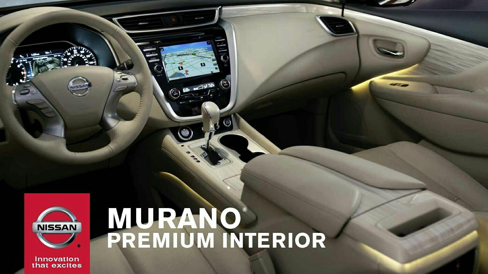 100 Nissan Murano Interior 2018 2017 Nissan Murano