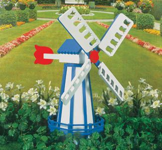 Windmill Wood Project Plan What A Charming Accent To Any