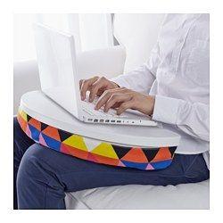byllan laptop support majviken multicolor white
