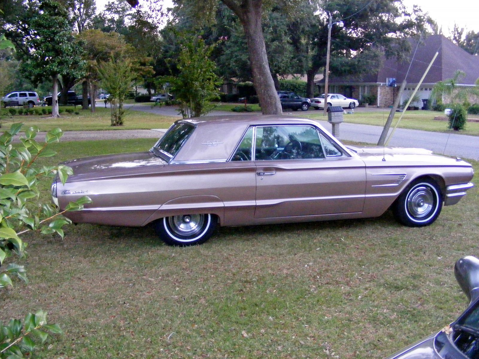 1965 Ford Thunderbird, Side view of 1965 Thunderbird Hard Top ...