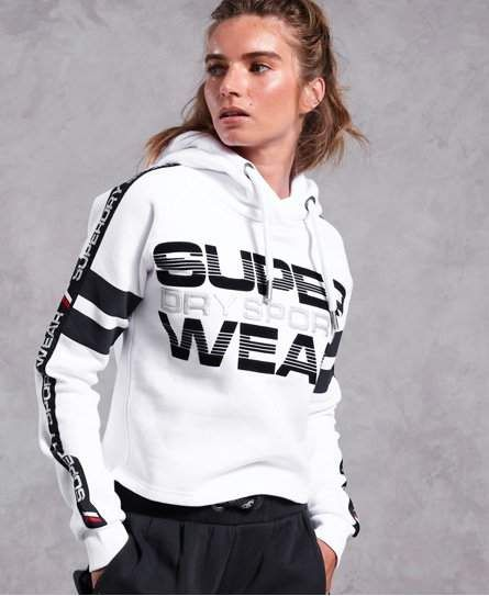 info for fc5d9 88482 Superdry Repeater Cropped Hoodie in 2019   Products ...