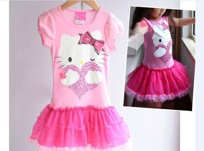 236d657f2 Hello Kitty Pink Dress Price: 1450/- Size: 1-2 years, #pinkbabydress ...