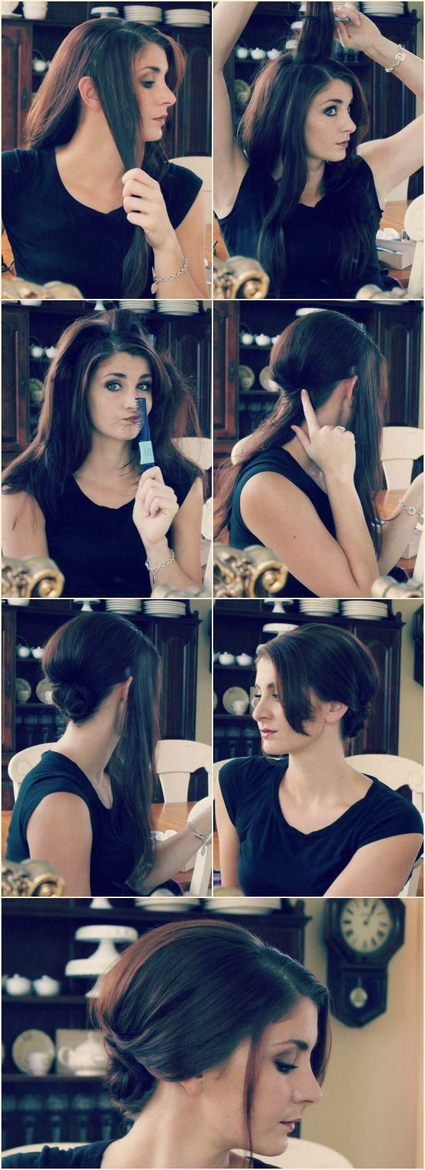 Chignon updo hair tutorial the mane event pinterest chignon