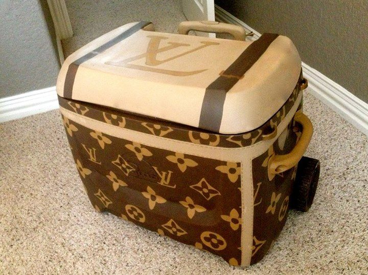 Louis Vuitton Garbage Bag louis vuitton now i can lay down and rest..i have found a l v