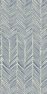 freeform arrows in navy fabric by domesticate for sale on
