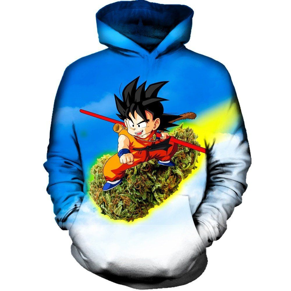 Dragon Ball Comic Mens Womans Hoodie Cotton Sweather 3D Print Tops Pullover Fans