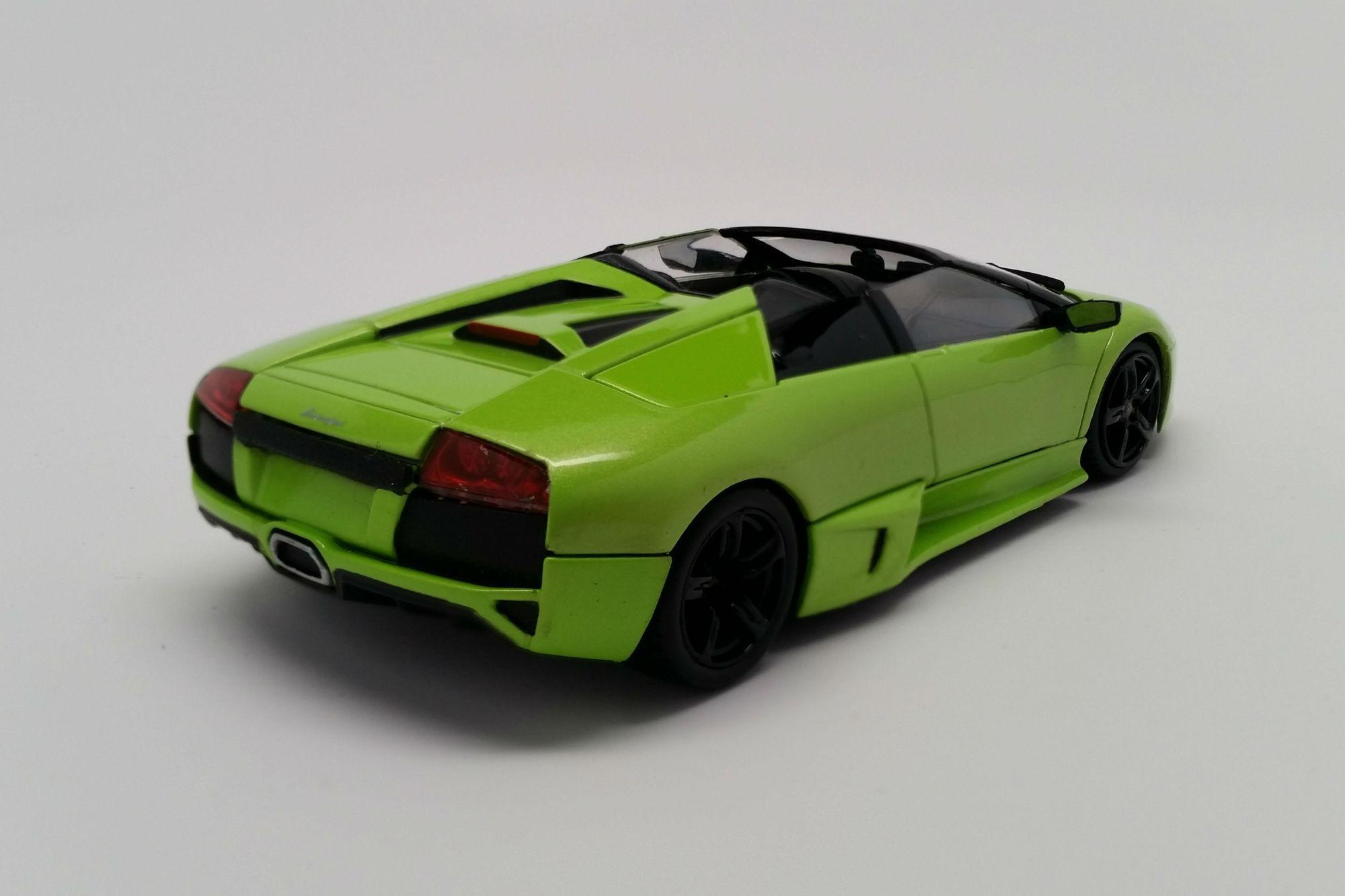 Lamborghini Murcielago Lp640 Roadster 1 43 Scale Diecast Model Car By Minichamps Front Quarter Diecast Model Cars Lamborghini Diecast