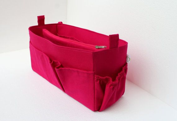 83373a2e91c9 Extra Large Diaper Purse organizer for Louis Vuitton Neverfull GM in  Fuchsia solid fabric