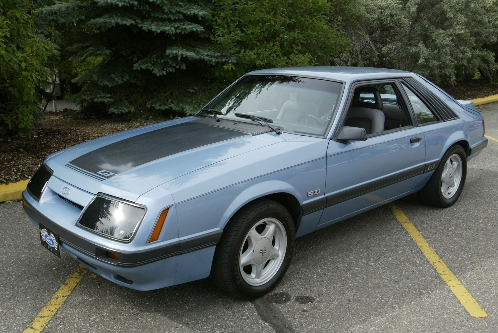 1985 mustang picture of 1985 ford mustang gt exterior