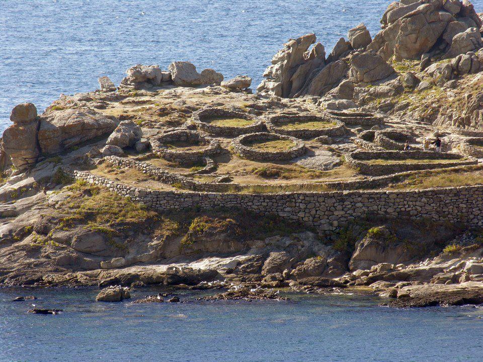 Hill fort of Baroña, Porto do Son, Galicia