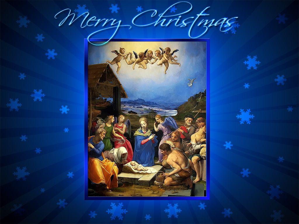 christmas jesus desktop screensavers