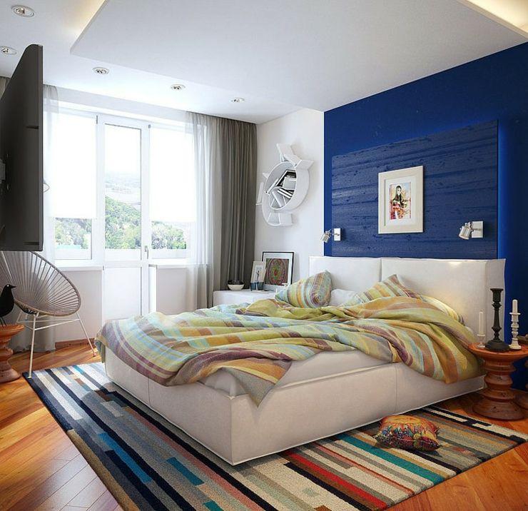 Ameublement design pour un logement de ville à Saint-Pétersbourg