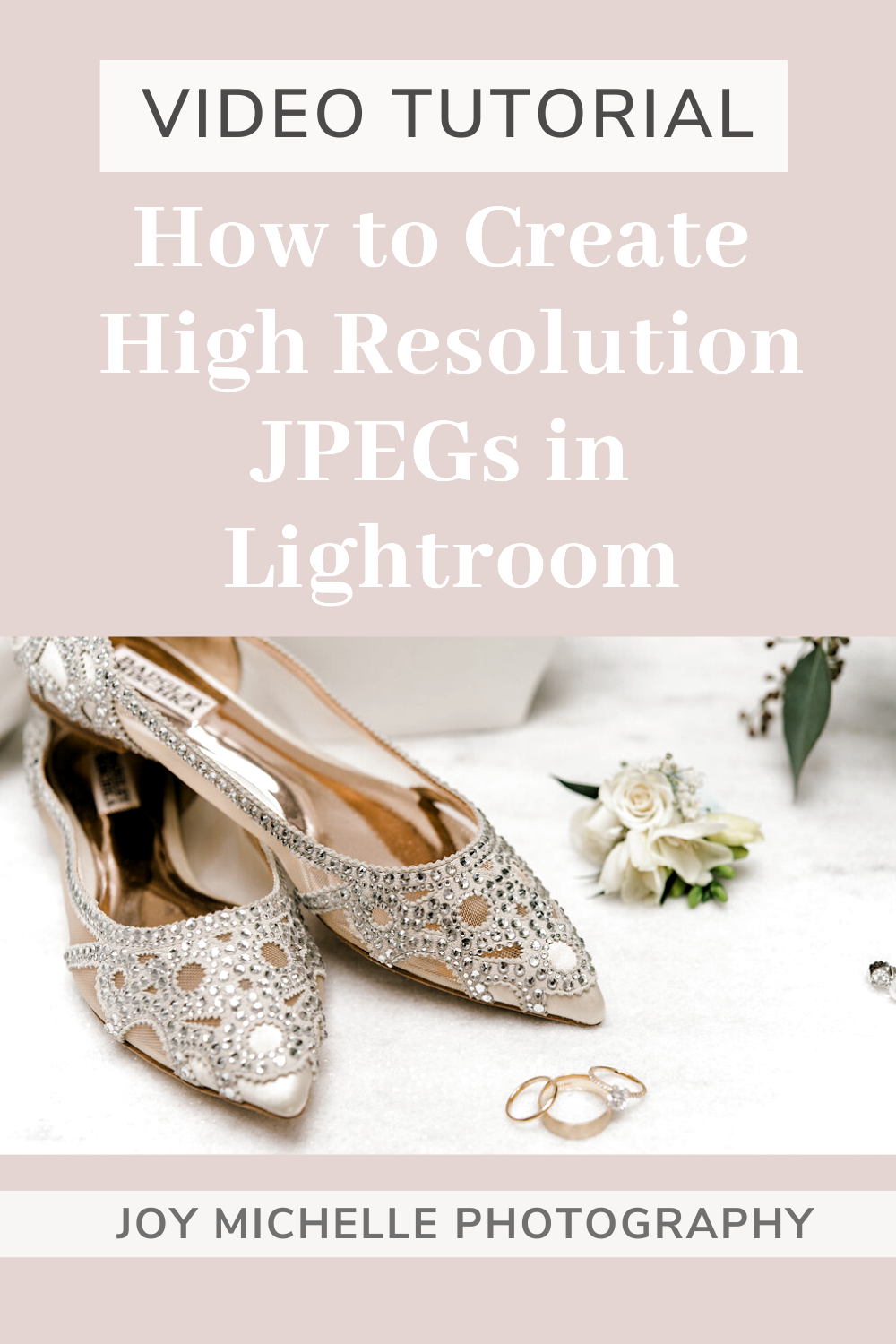 This video is about my export settings in Lightroom for wedding photographs.  A quick tip for Lightroom export settings is that you can save the whole process as a preset, so I have a preset for high resolution, and then a preset for my blog size images, etc.   Joy Michelle Photography Education #photographytips #lightroom #photographyediting #weddingphotographytips #photoboss