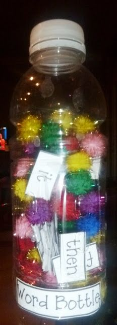 Sensory bottles! Sight words! Science observations! Math ideas! Printables! Concise, clear, fantastic!