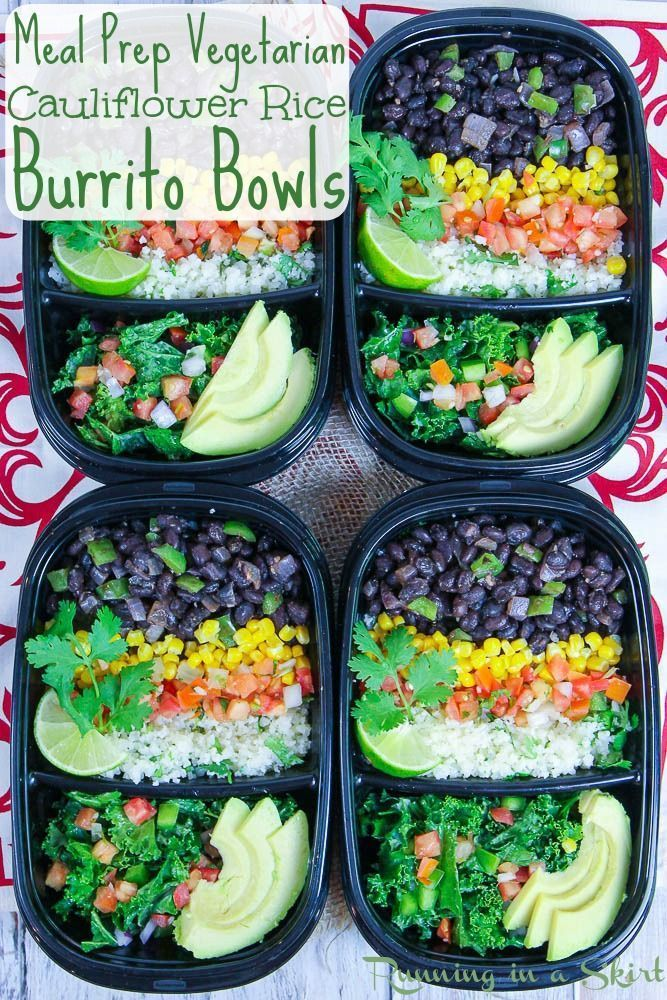 Easy Vegetarian Burrito Bowl recipe with Cilantro Lime Cauliflower Rice and chip Easy Vegetarian Burrito Bowl recipe with Cilantro Lime Cauliflower Rice and chip... -