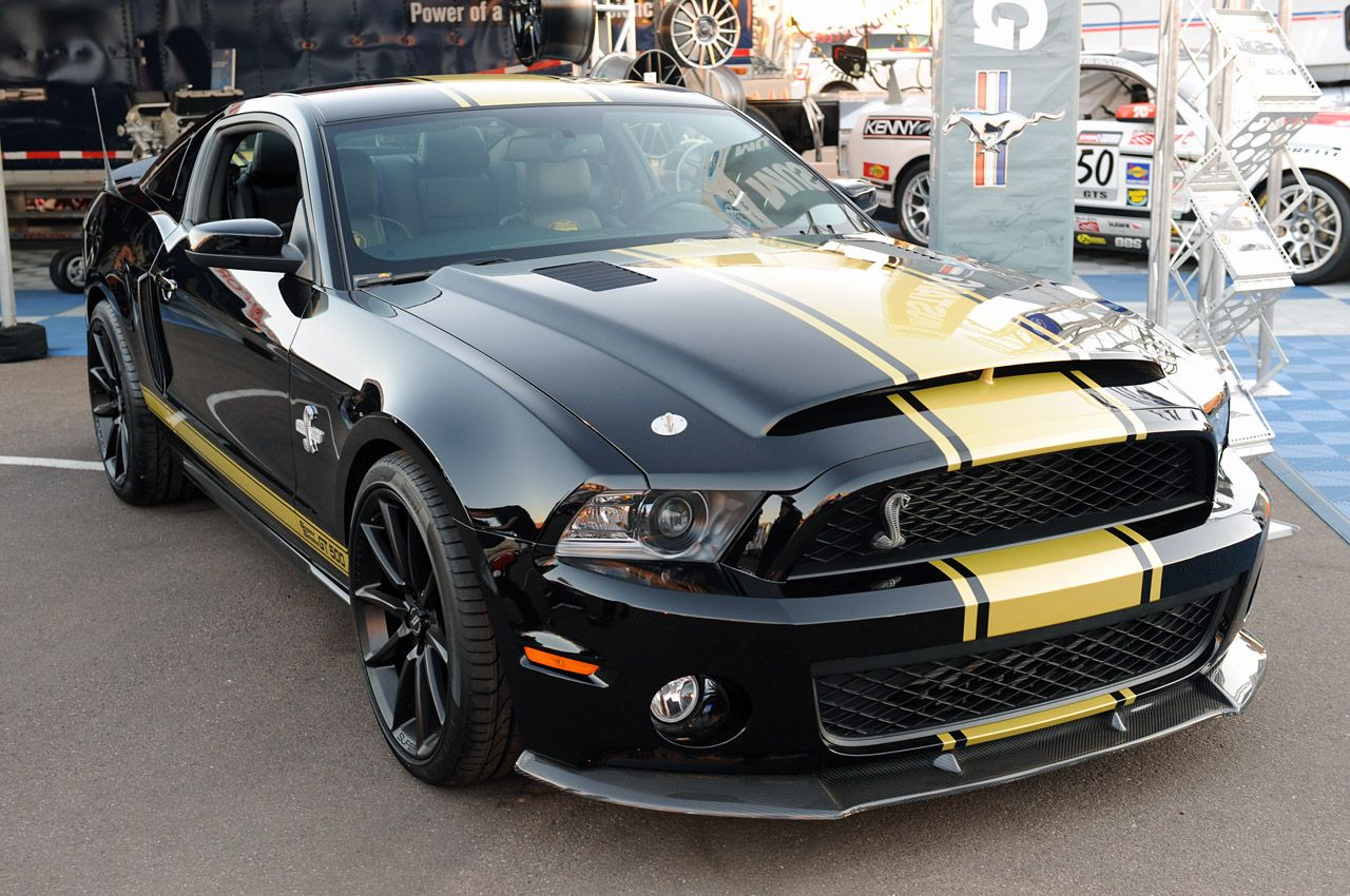 Ford Mustang Shelby GT500 Super Snake is famous for its great ...
