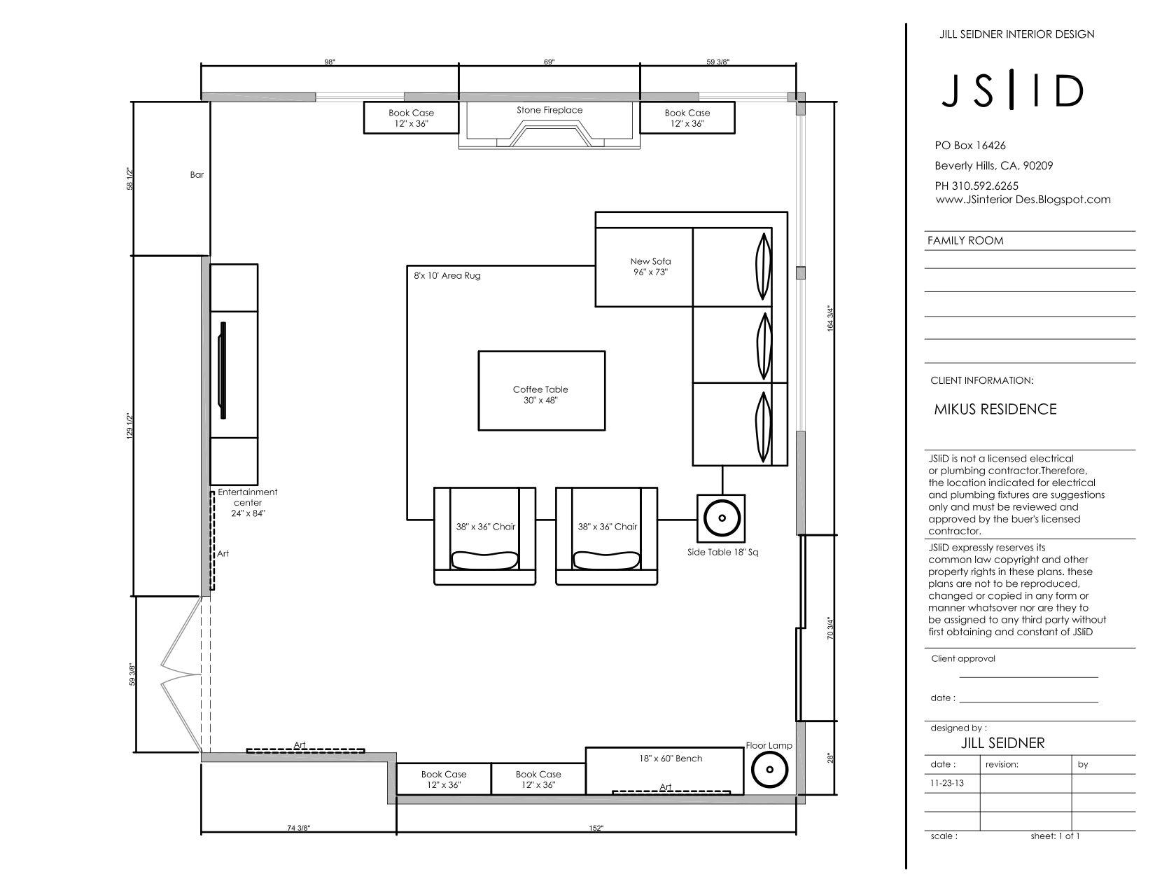 Online Design Project Family Room Furniture Floor Plan Layout Www Jsinteriordes Blogspot Com Family Room Family Room Furniture Arranging Bedroom Furniture