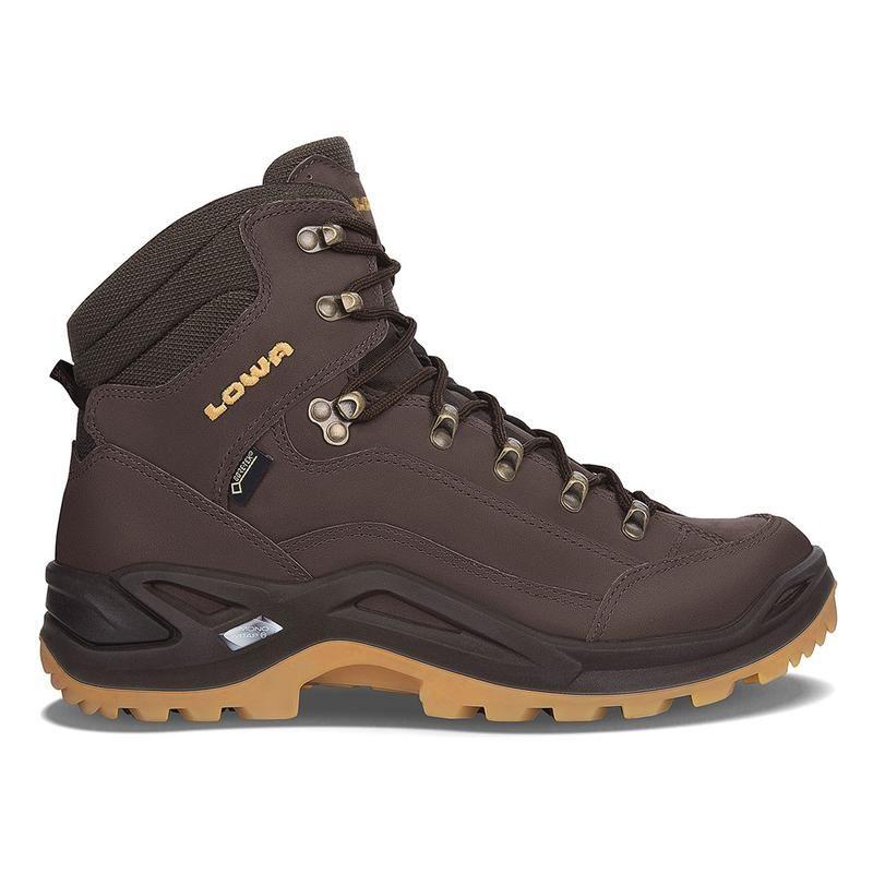 Lowa RENEGADE GTX MID - Walking boots - ozean