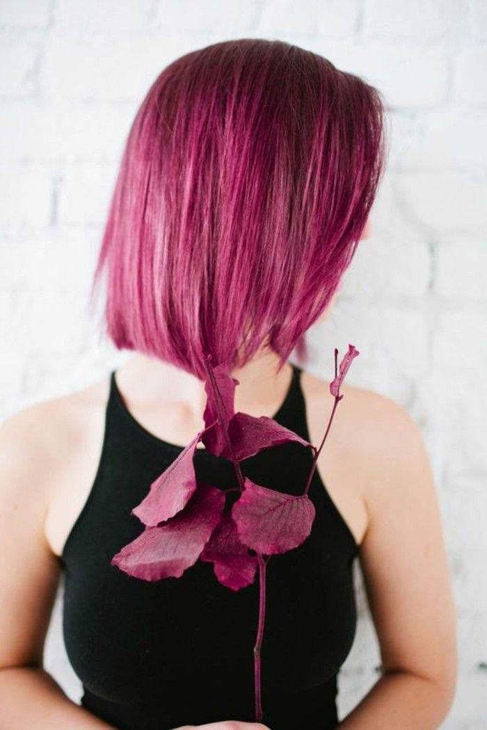 1001 looks r ussis pour des cheveux couleur framboise coiffures. Black Bedroom Furniture Sets. Home Design Ideas