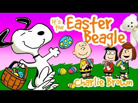 It S The Easter Beagle Charlie Brown Snoopy Youtube Easter