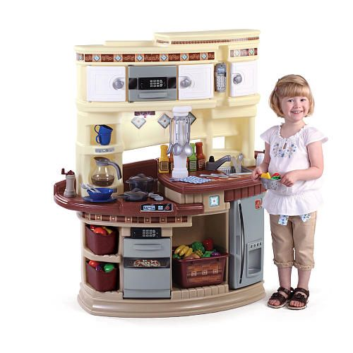 our step2 lifestyle master chef kitchen is a fun size kitchen