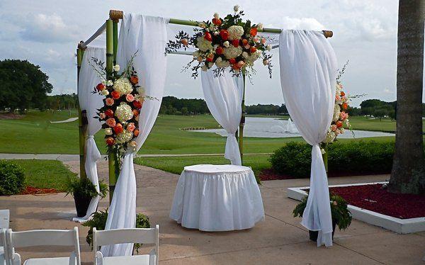 Wedding Canopy Altar Red Fish Grill Matheson Hammock Miami Www