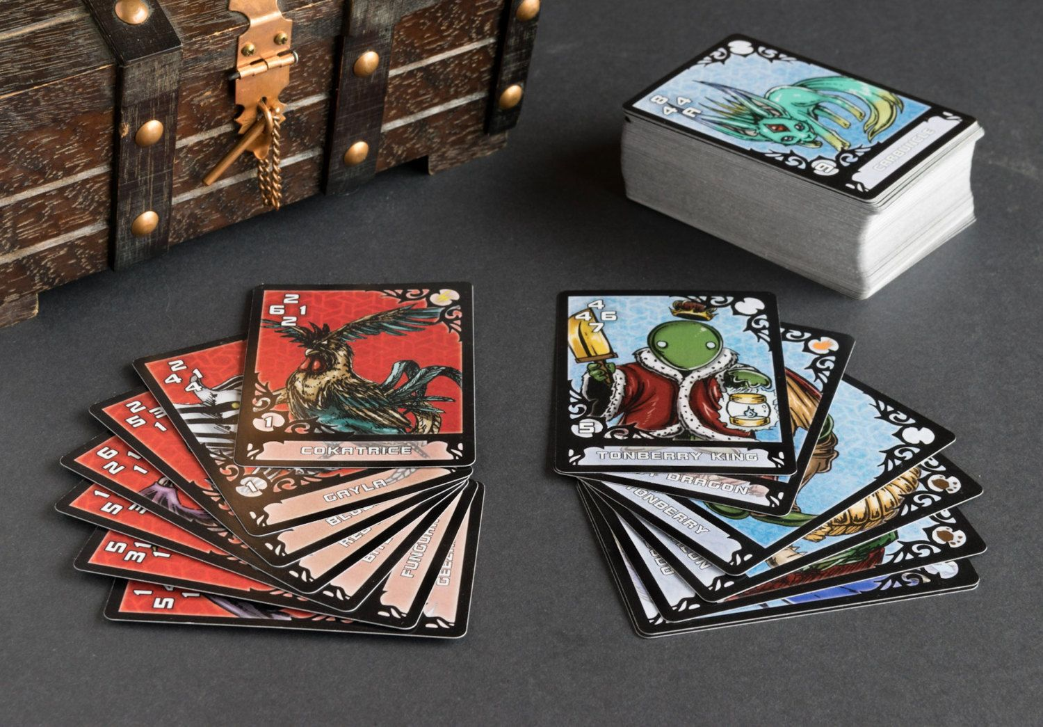 Triple Triad Real Life Cards Full Deck Designed By A Fan Cards Card Set Deck Of Cards