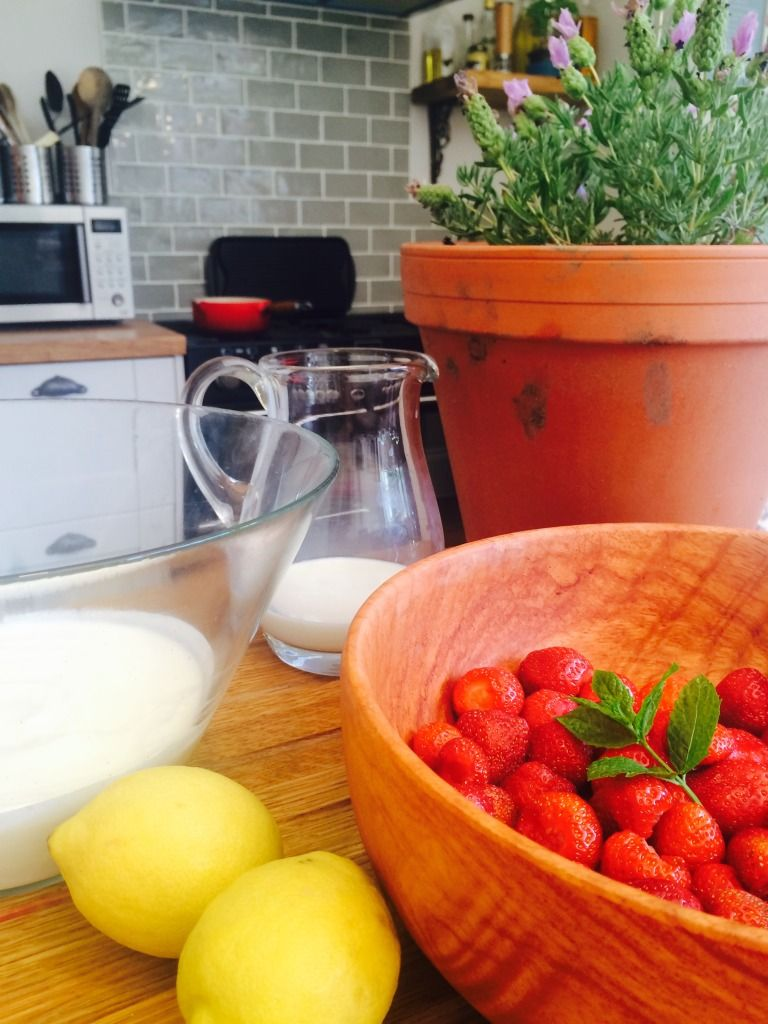 Blog Claudi & Fin Frozen yoghurt, Food inspiration