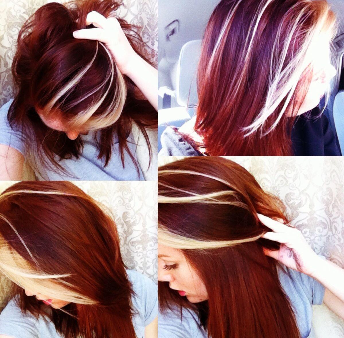 Summer Hair Blonde Chunk In Bangs Hair Hair Inspiration