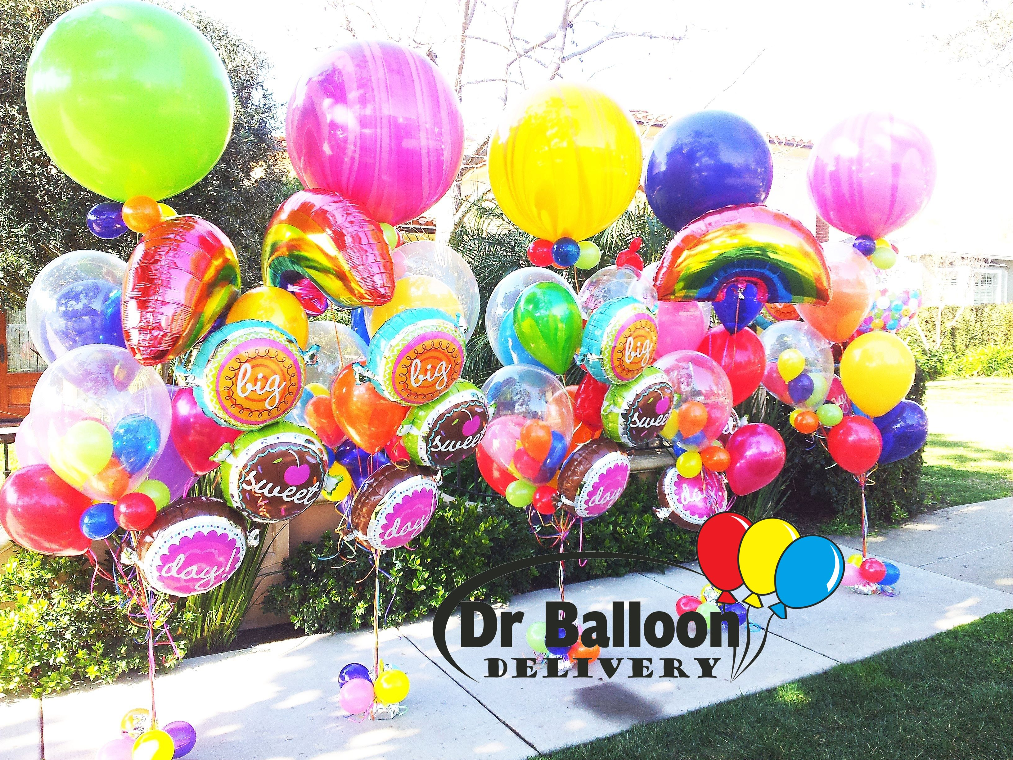 Balloon Delivery Birthday Balloons 4th Bouquet Decorations Bouquets