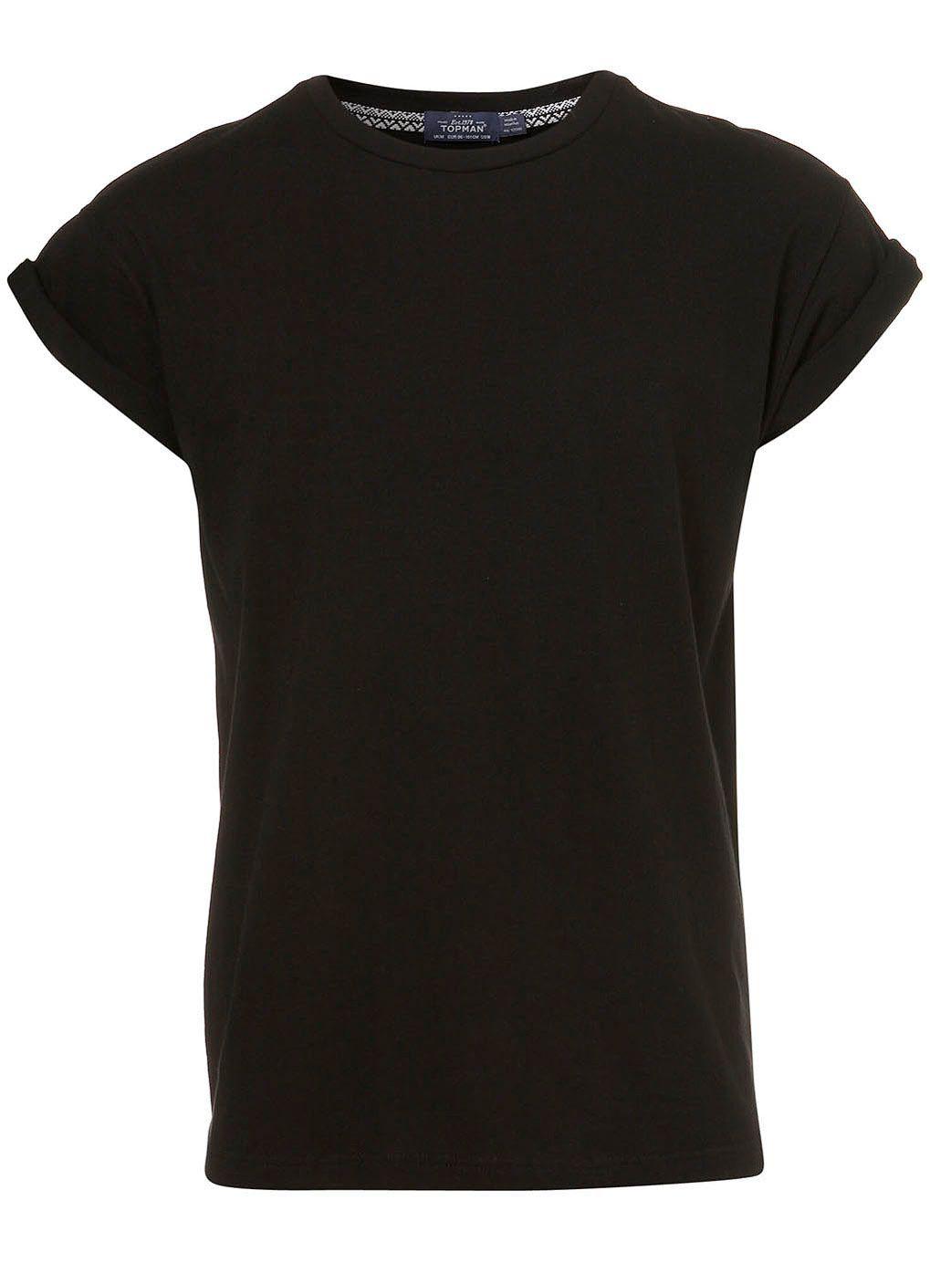 Black t shirt topman - Men S T Shirts