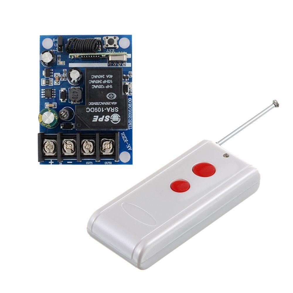 DC 12V 24V 36V 48V Relay Receiver 40A RF Wireless Remote