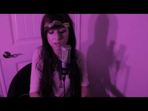 Christina Grimmie Singing Say Something By A Great Big World