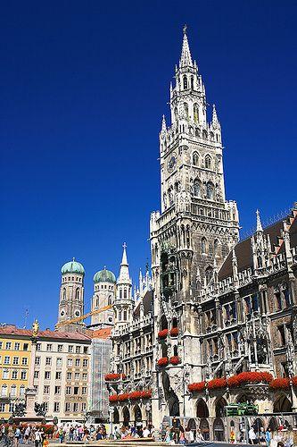 Neues Rathaus Munich Germany Europe Vacation Munich Germany