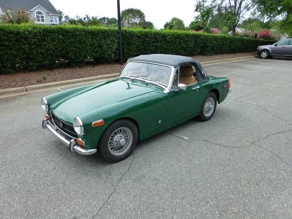 1973 Mg Midget 5400 Huntersville Nc Forsale Craigslist Mg Cars Mg Midget Car Find